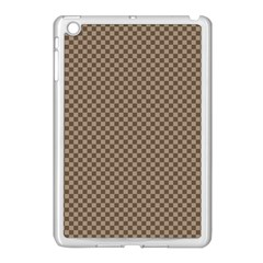 Pattern Background Diamonds Plaid Apple Ipad Mini Case (white)