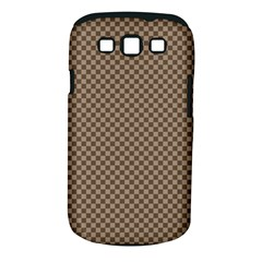 Pattern Background Diamonds Plaid Samsung Galaxy S Iii Classic Hardshell Case (pc+silicone)