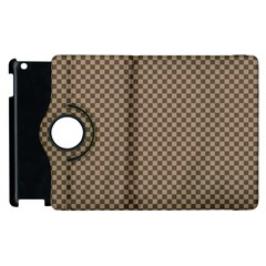 Pattern Background Diamonds Plaid Apple Ipad 2 Flip 360 Case