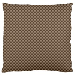 Pattern Background Diamonds Plaid Standard Flano Cushion Case (one Side)