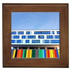 Office Building Framed Tiles