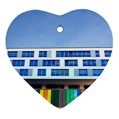 Office Building Ornament (heart)