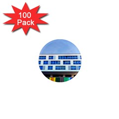 Office Building 1  Mini Magnets (100 Pack)