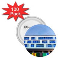 Office Building 1 75  Buttons (100 Pack)