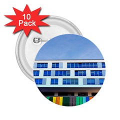 Office Building 2 25  Buttons (10 Pack)