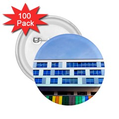 Office Building 2 25  Buttons (100 Pack)