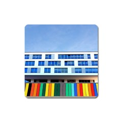 Office Building Square Magnet