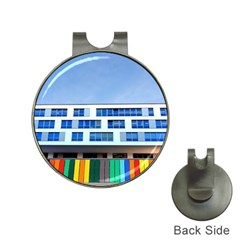 Office Building Hat Clips With Golf Markers