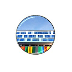 Office Building Hat Clip Ball Marker (10 Pack)