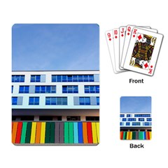 Office Building Playing Card