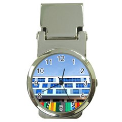 Office Building Money Clip Watches