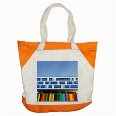 Office Building Accent Tote Bag