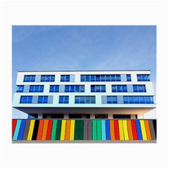 Office Building Small Glasses Cloth (2 Side)