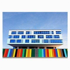 Office Building Large Glasses Cloth
