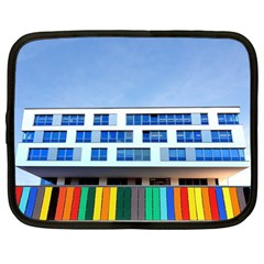 Office Building Netbook Case (Large)