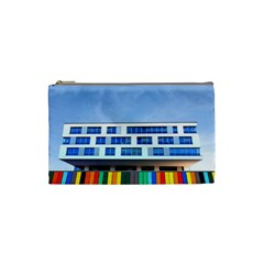 Office Building Cosmetic Bag (small)