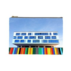 Office Building Cosmetic Bag (large)