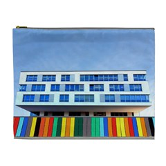 Office Building Cosmetic Bag (xl)