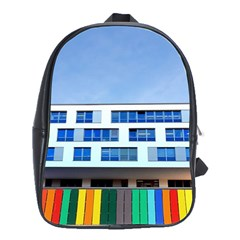 Office Building School Bags(large)