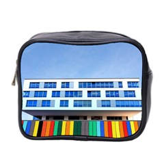 Office Building Mini Toiletries Bag 2 Side