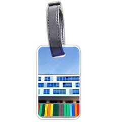 Office Building Luggage Tags (one Side)