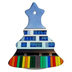 Office Building Christmas Tree Ornament (two Sides)