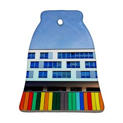 Office Building Bell Ornament (two Sides)