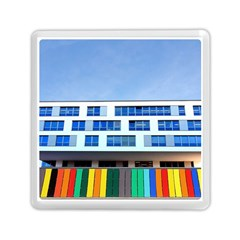 Office Building Memory Card Reader (square)