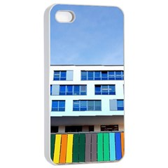 Office Building Apple Iphone 4/4s Seamless Case (white)