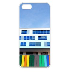 Office Building Apple Iphone 5 Seamless Case (white)