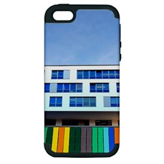 Office Building Apple Iphone 5 Hardshell Case (pc+silicone)