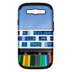 Office Building Samsung Galaxy S Iii Hardshell Case (pc+silicone)