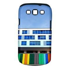 Office Building Samsung Galaxy S Iii Classic Hardshell Case (pc+silicone)