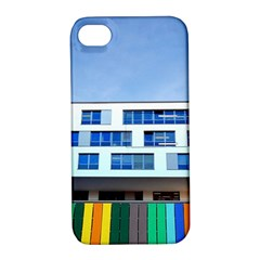 Office Building Apple Iphone 4/4s Hardshell Case With Stand