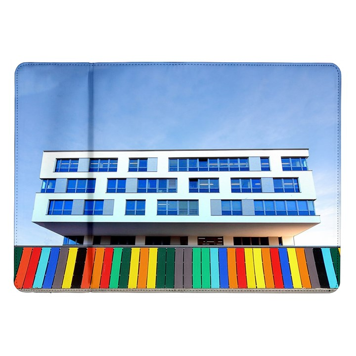Office Building Samsung Galaxy Tab 10.1  P7500 Flip Case