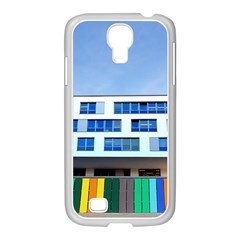 Office Building Samsung Galaxy S4 I9500/ I9505 Case (white)