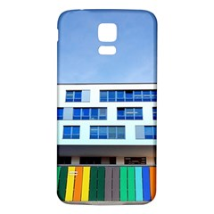 Office Building Samsung Galaxy S5 Back Case (white)