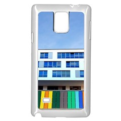 Office Building Samsung Galaxy Note 4 Case (white)