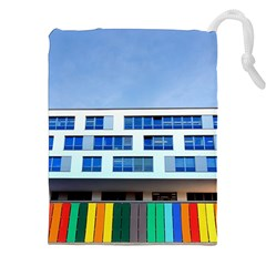 Office Building Drawstring Pouches (xxl)
