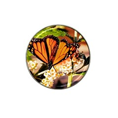 Monarch Butterfly Nature Orange Hat Clip Ball Marker (10 Pack)