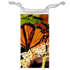 Monarch Butterfly Nature Orange Jewelry Bag