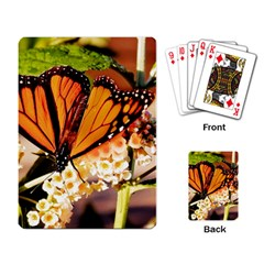Monarch Butterfly Nature Orange Playing Card