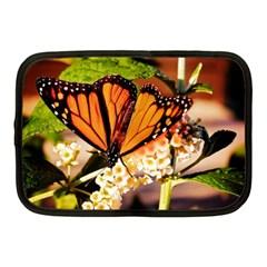 Monarch Butterfly Nature Orange Netbook Case (medium)