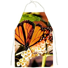 Monarch Butterfly Nature Orange Full Print Aprons
