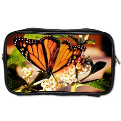 Monarch Butterfly Nature Orange Toiletries Bags 2 Side