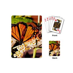 Monarch Butterfly Nature Orange Playing Cards (mini)