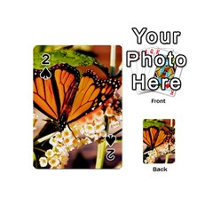 Monarch Butterfly Nature Orange Playing Cards 54 (mini)