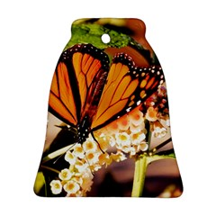 Monarch Butterfly Nature Orange Bell Ornament (two Sides)