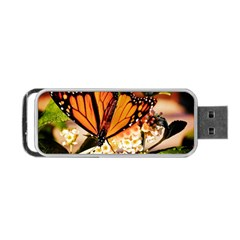 Monarch Butterfly Nature Orange Portable USB Flash (One Side)