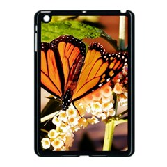 Monarch Butterfly Nature Orange Apple Ipad Mini Case (black)